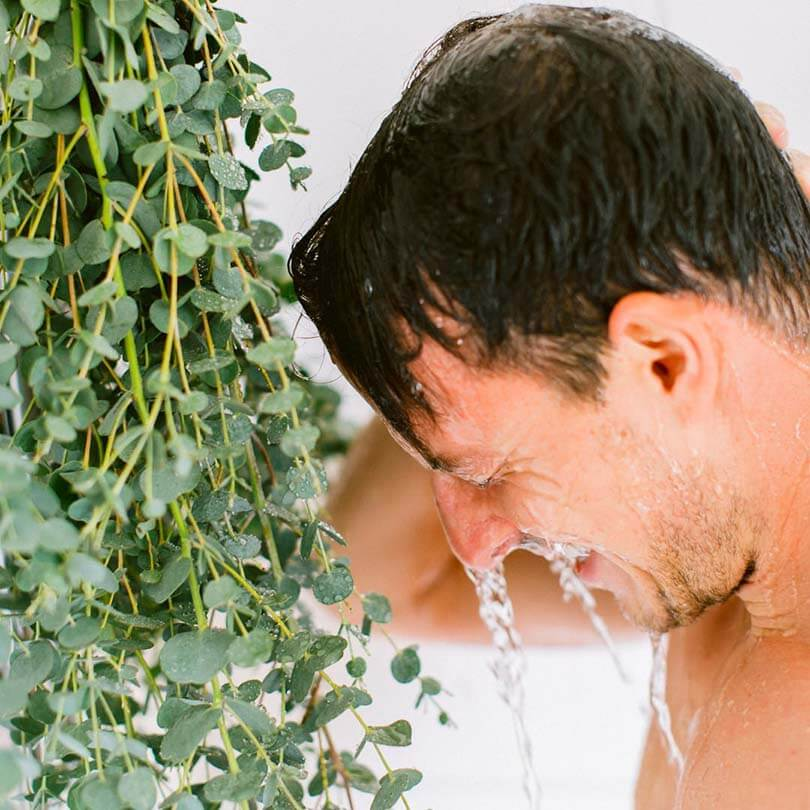 Ricola Eucalyptus Shower How-To - Step  4