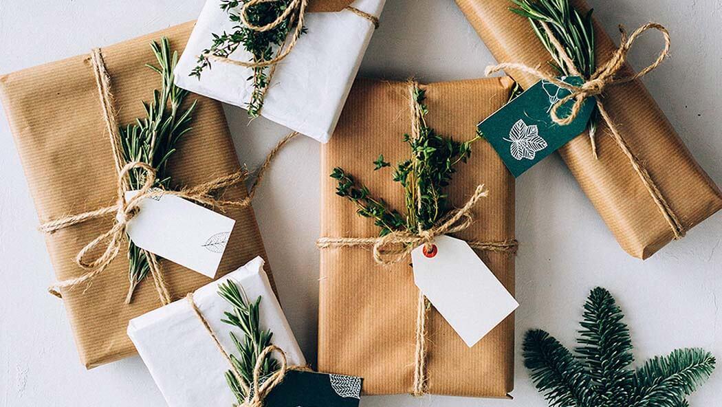 Des emballages cadeaux originaux