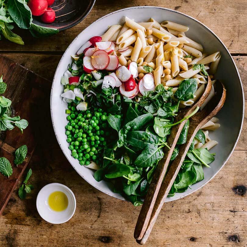 Ricola Kräuter-Pasta-Salat Rezept - Step  4