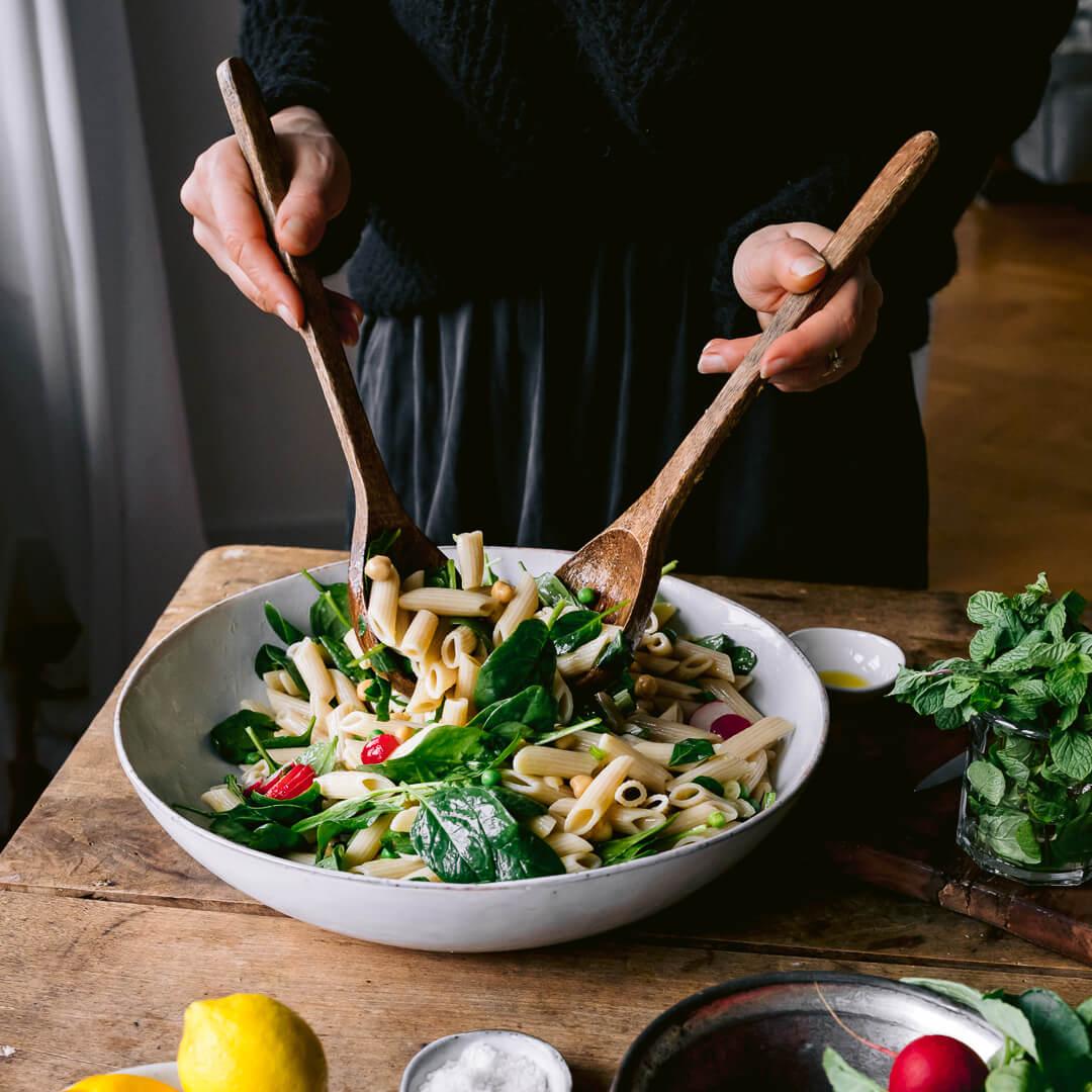 Ricola Kräuter-Pasta-Salat Rezept - Step  5