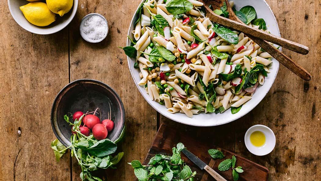 Kräuter-Pasta-Salat