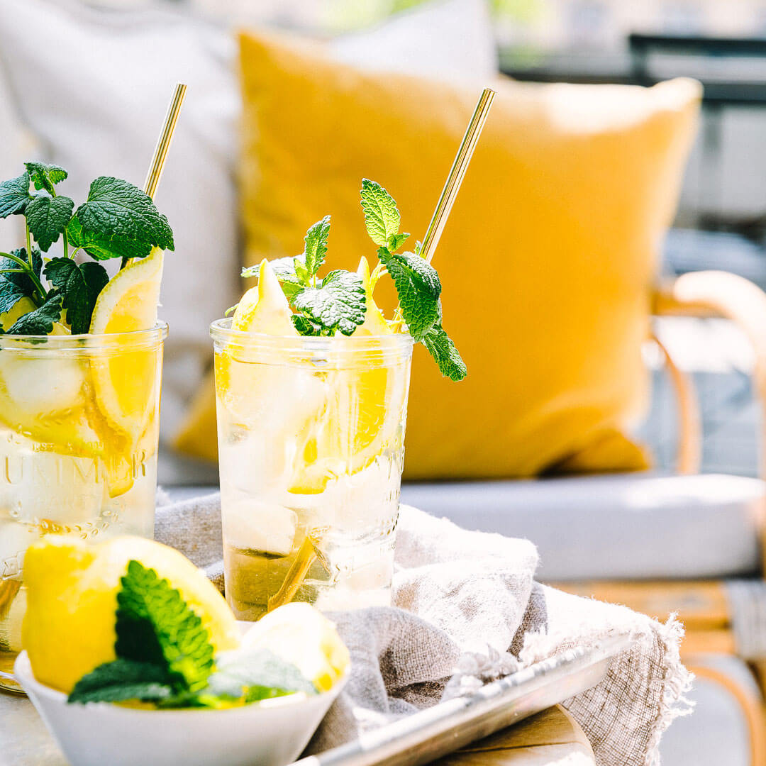 Ricola Zitronenmelisse Drink Rezept - Step  5