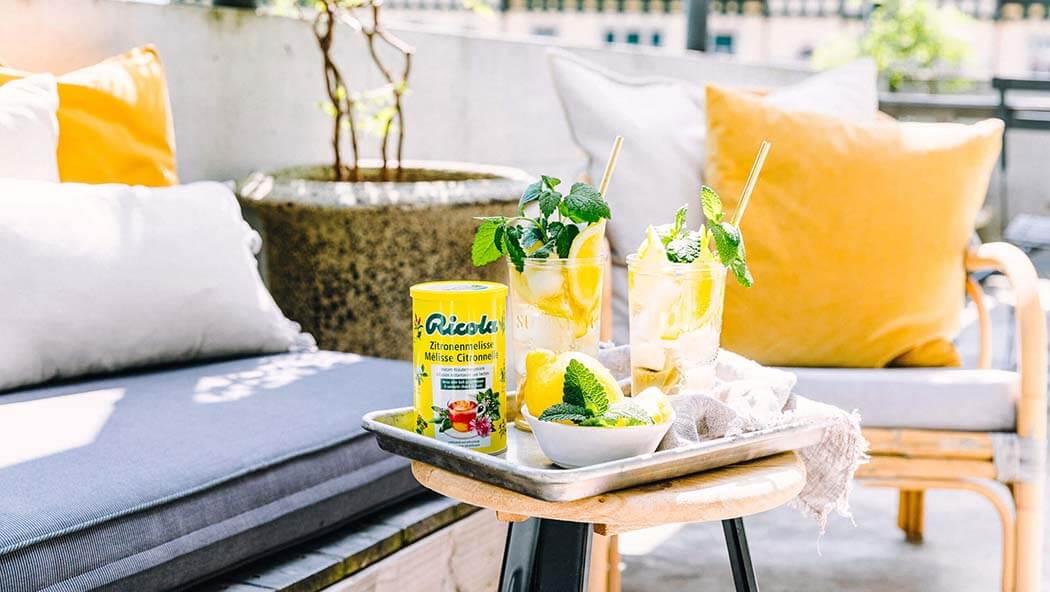 Zitronenmelisse Drink