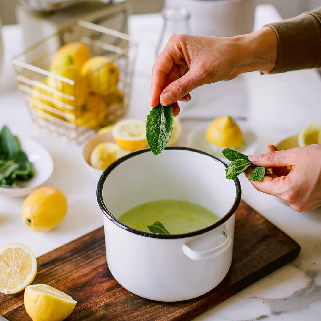 Ricola  Lemon mint sorbet Recipe - Step  5