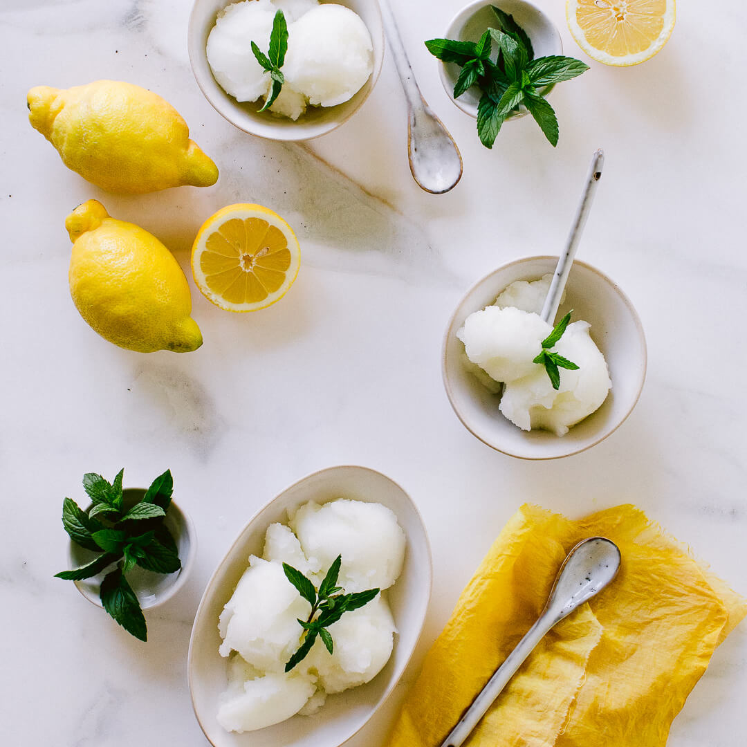 Ricola  Lemon mint sorbet Recipe - Step  7