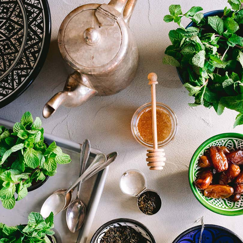 Ricola Moroccan Mint Tea Recipe - Step  1