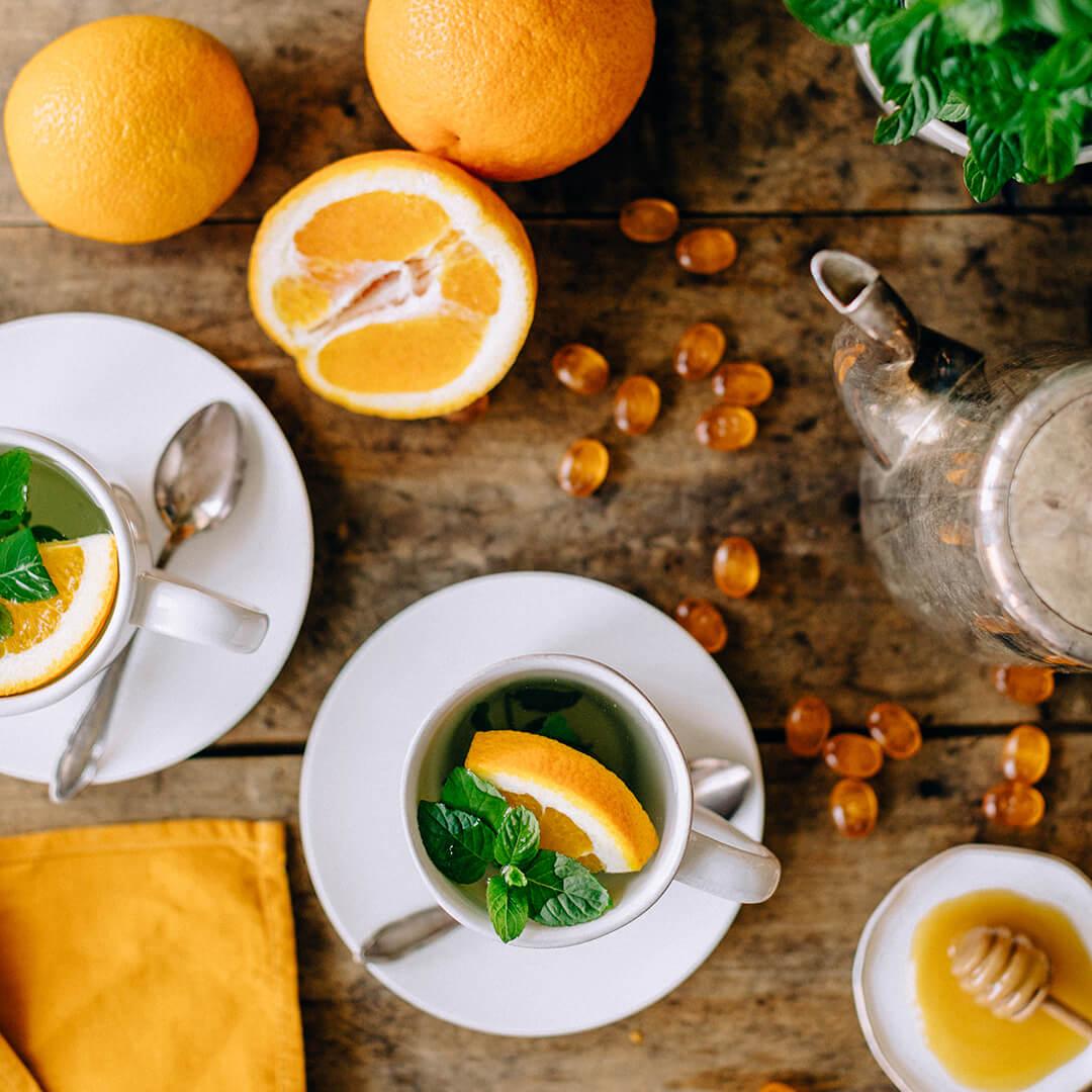 Ricola Fruchtiger Orangenminze-Tee Rezept - Step  4