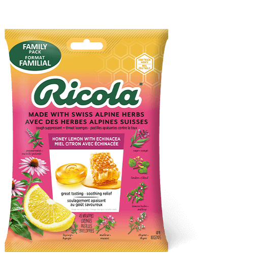 Ricola Honey Lemon with Echinacea