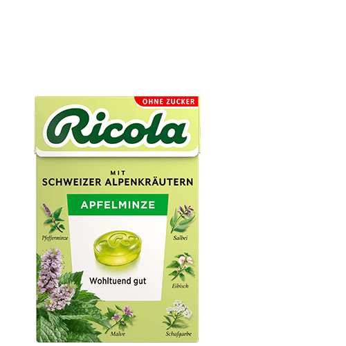 Ricola Apfelminze