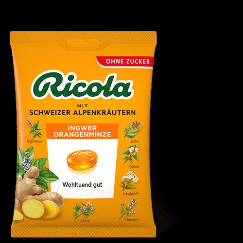 Ricola Ingwer Orangenminze
