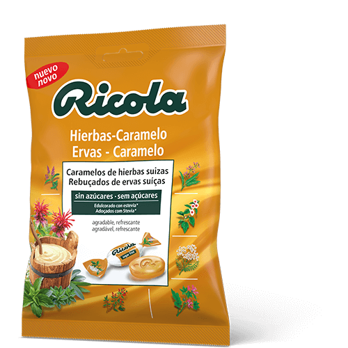 Ricola Hierbas-Caramelo