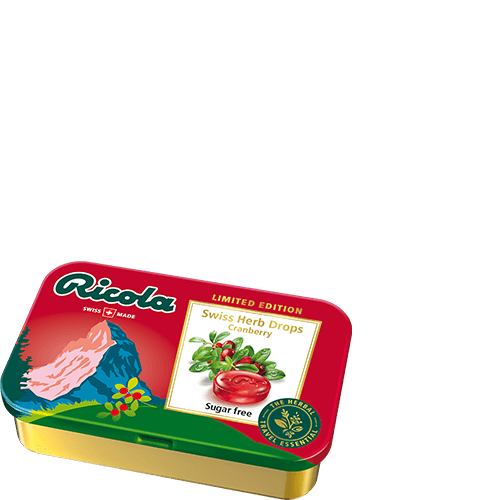 Ricola Travel Retail Exclusive Tin Range