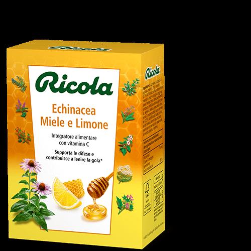 In esclusiva in farmacia - Ricola Echinacea Miele e Limone