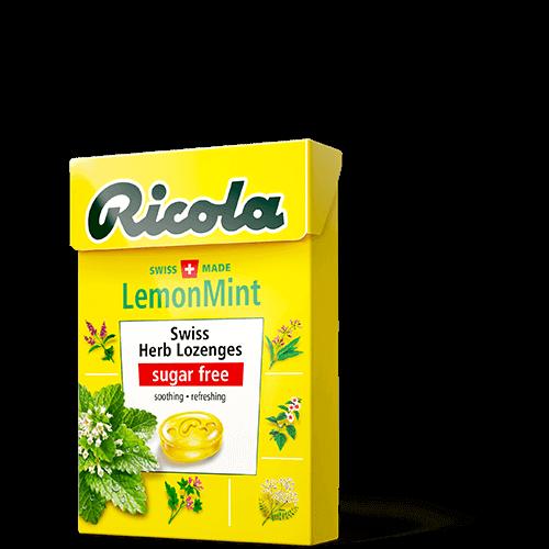 Ricola 레몬 민트
