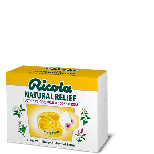 Ricola Natural Relief Honey-Lemon