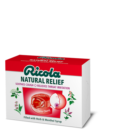 Ricola Natural Relief Swiss Cherry