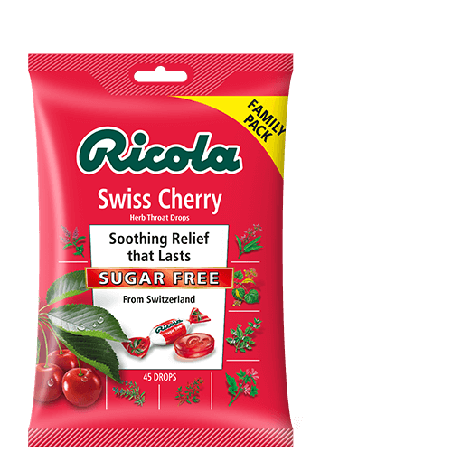 Ricola Sugar Free Swiss Cherry