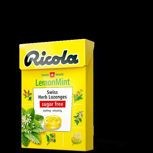 Ricola Kẹo ngậm thảo mộc Chanh Bạc hà Lemon Mint